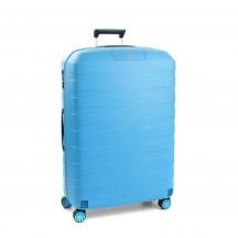 Roncato Box 2.0 Walizka średnia błękitna
