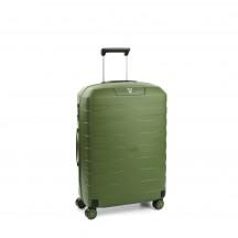 Roncato Box 2.0 Walizka średnia zielona