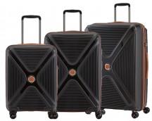 Titan Paradoxx Komplet 3 walizek czarnych