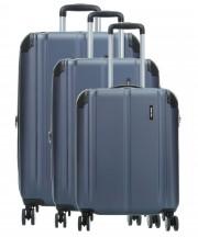 Travelite City Komplet 3 walizek granatowych
