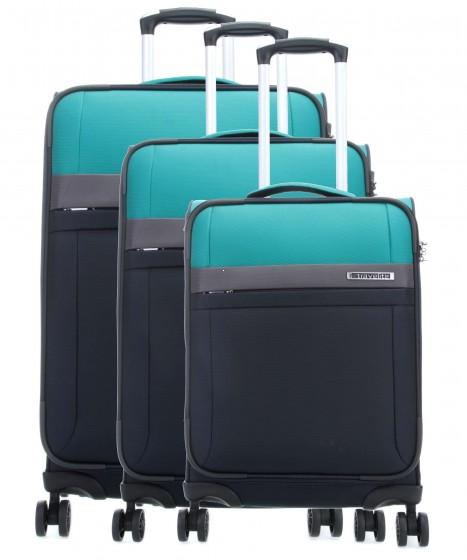 Travelite Stream Komplet 3 walizek grantowych