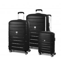 Modo by Roncato Starlight 2.0 Komplet 3 walizek czarny