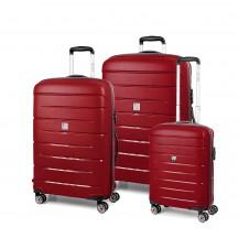 Modo by Roncato Starlight 2.0 Komplet 3 walizek czerwony