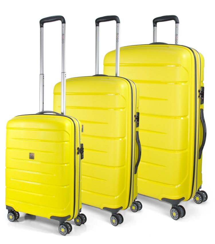 1ffee60c6495 Modo by Roncato Starlight 2.0 Komplet 3 walizek żołty ...