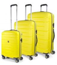 Modo by Roncato Starlight 2.0 Komplet 3 walizek żołty