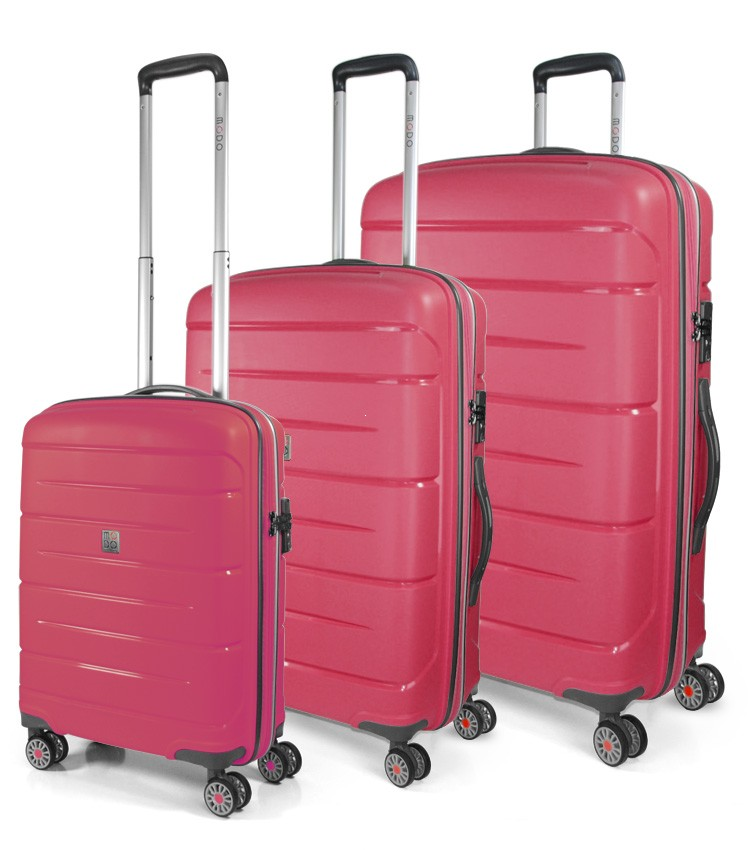 3bcd1332214b Modo by Roncato Starlight 2.0 Komplet 3 walizek różowy ...