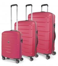 Modo by Roncato Starlight 2.0 Komplet 3 walizek różowy