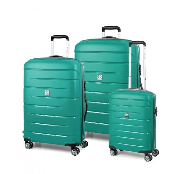 Modo by Roncato Starlight 2.0 Komplet 3 walizek szmaragdowy