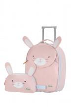 Sammies by Samsonite Happy Sammies Zestaw walizka i kosmetyczka Rabbit Rosie