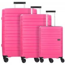 Travelite Kosmos Komplet 3 walizek różowych