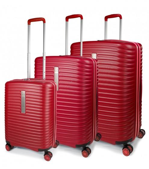 Modo by Roncato Vega Komplet 3 walizek czerwony