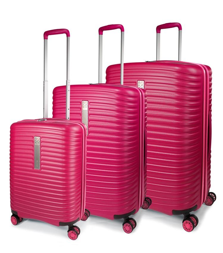1e07f7028d0b Modo by Roncato Vega Komplet 3 walizek różowy ...