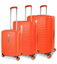 Modo by Roncato Vega Komplet 3 walizek pomarańczowy