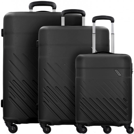 Travelite Vinda Komplet 3 walizek czarnych