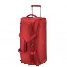 Delsey U-lite Classic Torba podróżna na kółkach czerwona