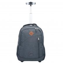 Travelite Basics Plecak na kółkach podróżny antracytowy