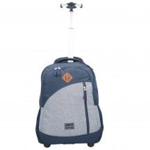 Travelite Basics Plecak na kółkach podróżny granatowy