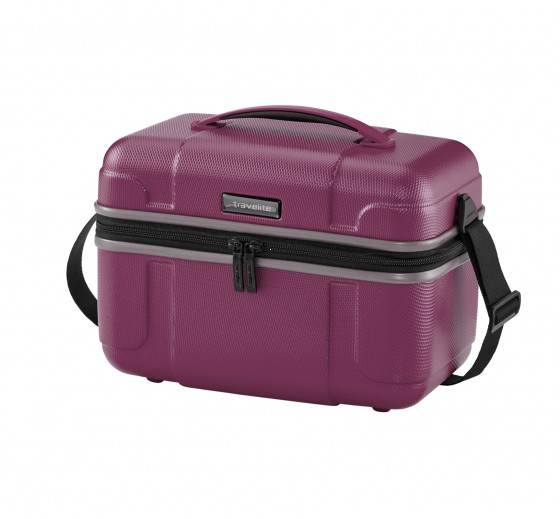Travelite Vector Kuferek podróżny kosmetyczka fioletowa