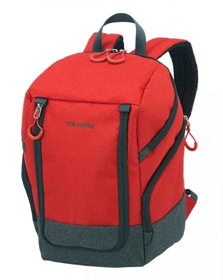 Travelite Basics Plecak miejski czerwony