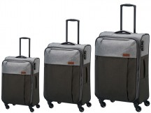 Travelite Neopak Komplet 3 walizek antracytowych