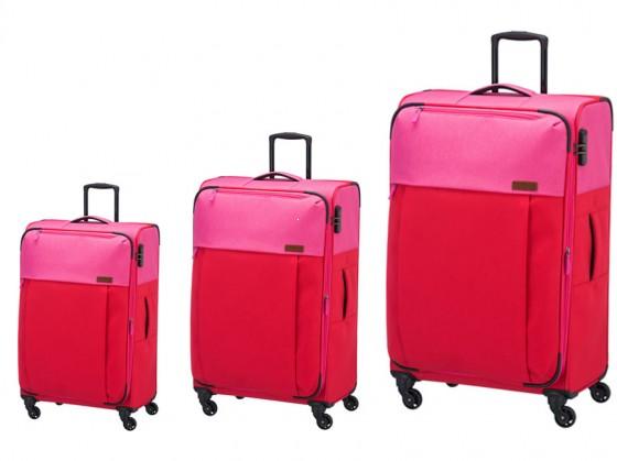 Travelite Neopak Komplet 3 walizek czerwonych