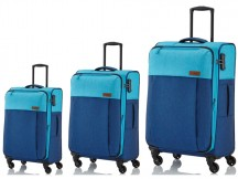 Travelite Neopak Komplet 3 walizek granatowych