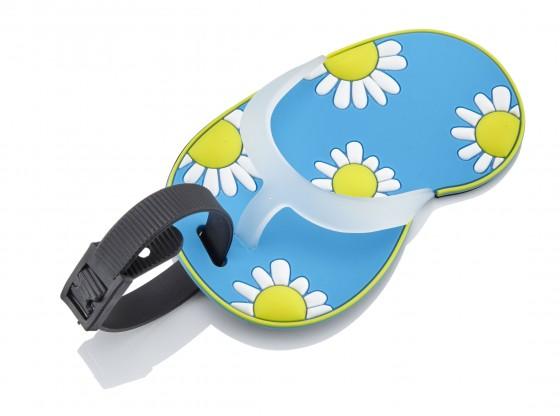 Travelite Flip Flop Identyfikator podróżny niebieski