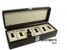 Davidt's Chrome Szkatułka na zegarki czarna