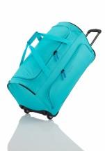 Travelite Basics Torba podróżna na kółkach błękitna
