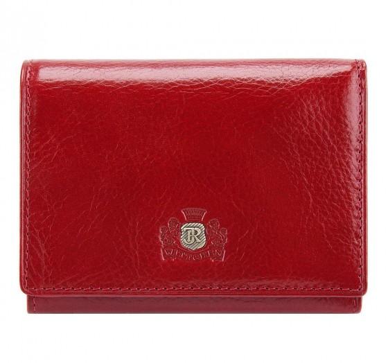 Wittchen Roma Portfel damski portmonetka czerwony