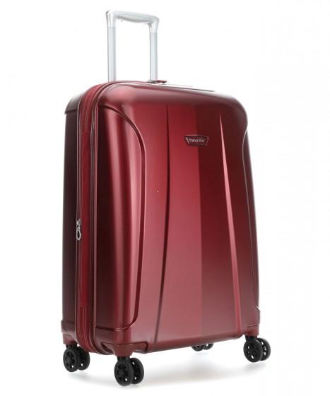 Travelite Elbe Walizka średnia czerwona