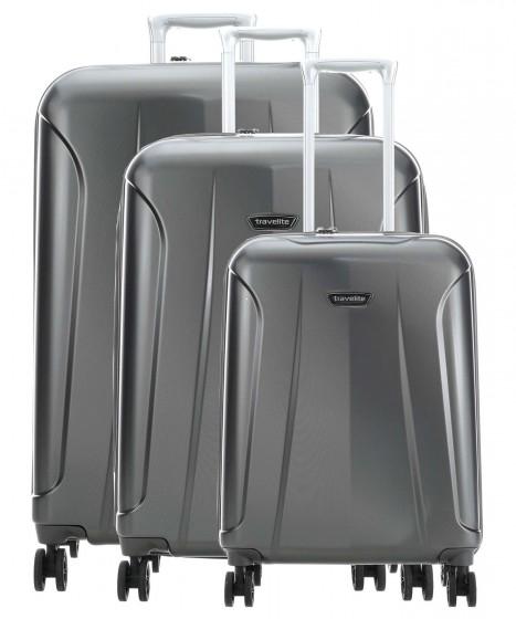 Travelite Elbe Komplet 3 walizek antracytowych