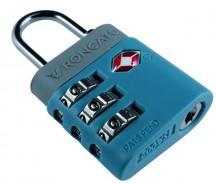 Roncato Accessories Kłódka na szyfr TSA niebieska