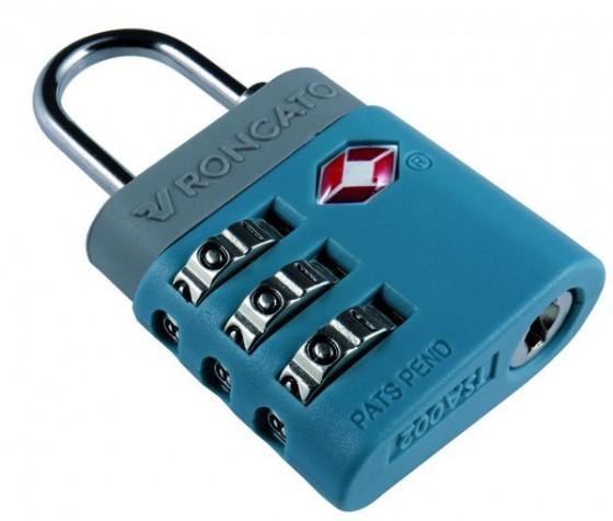 Roncato Accessories Kłódka na szyfr TSA szara