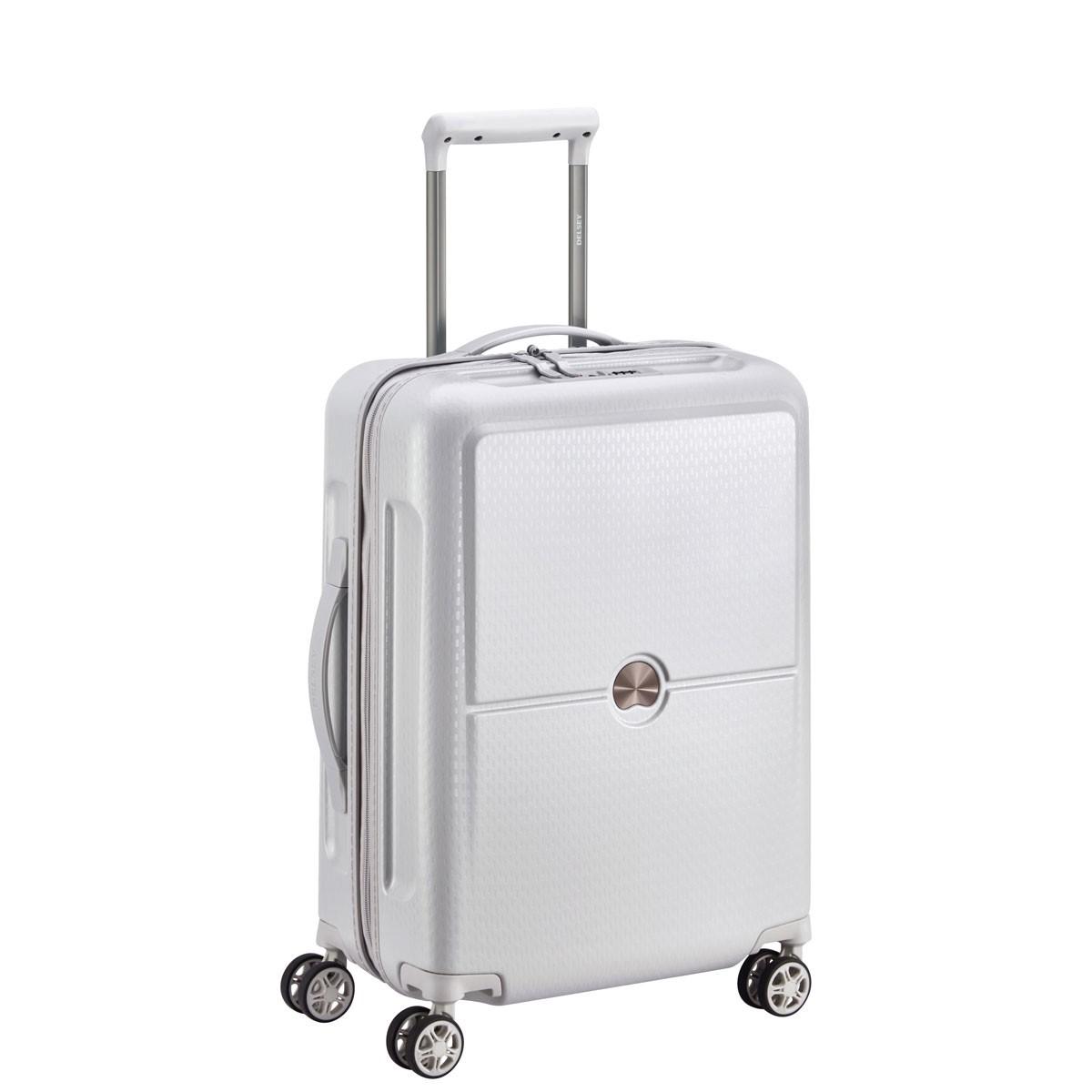 4d279aa8bccd6 Delsey Turenne Walizka mała biała Walizki i torby podróżne, Bagaż ...