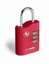 Pacsafe ProSafe 700 Kłódka na szyfr TSA czerwona