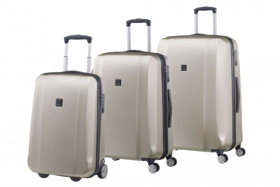 Titan Xenon Komplet 3 walizek szampańskich