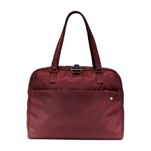 Pacsafe Citysafe CX slim briefcase Torebka miejska bordowa