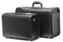 Davidts Pilot Komplet 2 Neseserów kufrów czarnych