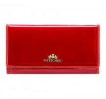 Wittchen Verona Portfel damski portmonetka czerwony