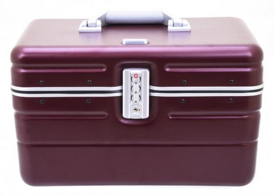 Davidt's Travel Smart Kuferek podróżny kosmetyczka bordowa