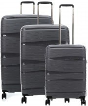Travelite Motion Komplet 3 walizek antracytowych