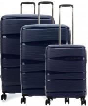 Travelite Motion Komplet 3 walizek granatowych