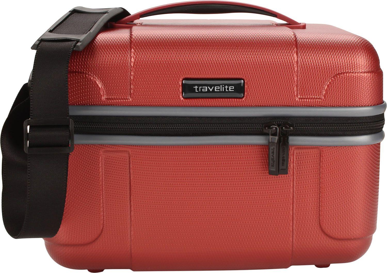 b74d5343bb751 Travelite Vector Kuferek podróżny kosmetyczka czerwona ...
