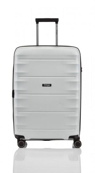 84d01c20b180a Titan Highlight Walizka średnia biała Walizki i torby podróżne ...