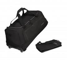 Travelite Basics Torba podróżna na kółkach składana czarna