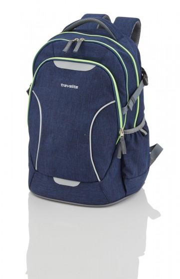 Travelite Basics Plecak miejski granatowy