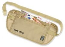 Travelite Accessories Sekretny portfel RFID na pas beżowy