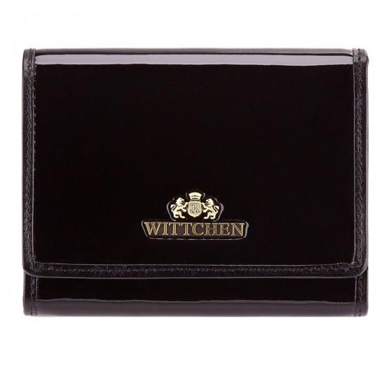 Wittchen Verona Portfel damski czarny