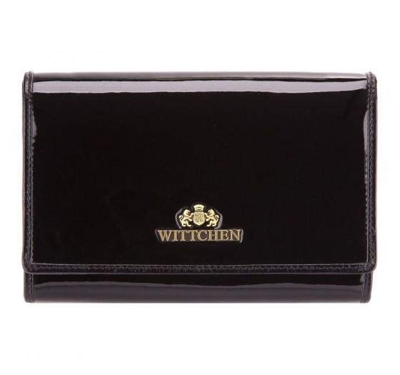 Wittchen Verona Portfel damski portmonetka czarny